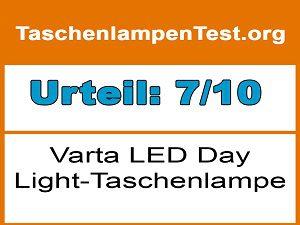 Varta LED Day Light-Taschenlampe-Testergebnis