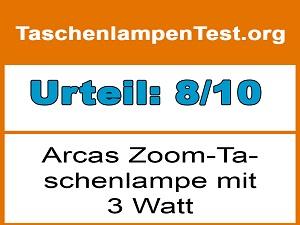 arcas-zoom-taschenlampe-3-watt-170-lumen-testurteil