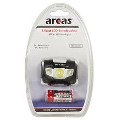 Arcas-5-Watt-LED-Stirnleuchte-Test
